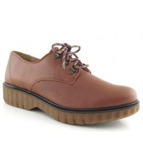Zapatos con cordones suela geométrica
