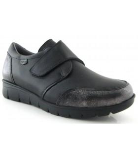 Zapato de confort con cierre de velcro
