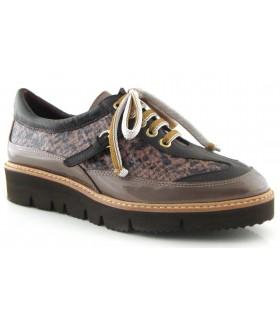 Zapato con cordones para mujer