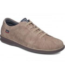 Zapatos con cordones elásticos en color taupe