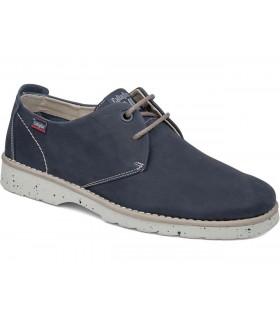 Zapato de cordones en color azul