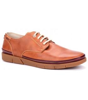Zapatos con cordones en color brandy