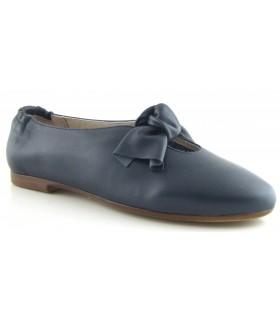 Zapatos para mujer con lazo en color marino