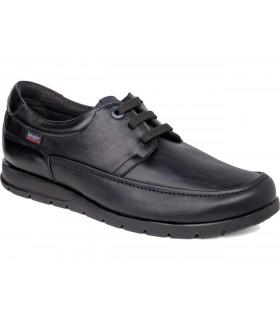 Zapatos de color negro fabricados en piel