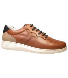 Zapatos de color cuero fabricados en piel
