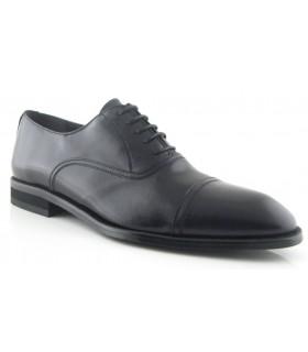 Zapato en piel negra para hombre