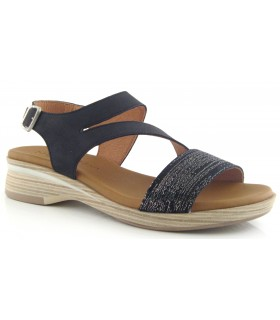 Sandalia en color negro