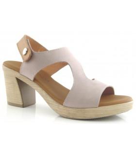 Sandalia para mujer en color taupe