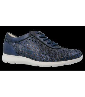 Zapato calado en color azul marino