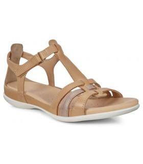 Sandalia en color cuero