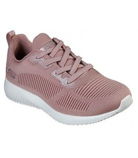 Deportivo mujer SKECHERS BOBS SQUAD TOUGH TALK 32504  ROSA