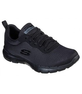 Deportivo mujer SKECHERS FLEX APPEAL 3.0 FIRST INSIGHT 13070  NEGRO