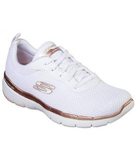 Deportivo mujer SKECHERS FLEX APPEAL 3.0 FIRST INSIGHT 13070  BLANCO