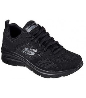 Deportivo mujer SKECHERS FASHION FIT NOT AFRAID 12713  NEGRO
