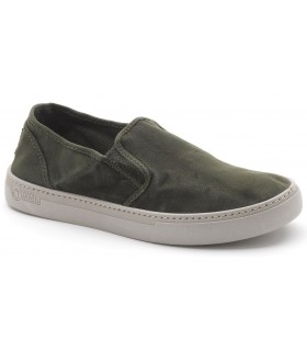 Deportivo slip-on en color kaki