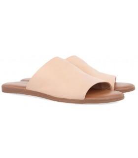 Sandalia para mujer de color nude