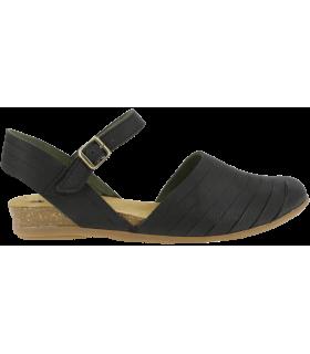Sandalia para mujer de color negro