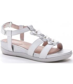 Sandalias blancas para mujer