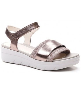 Sandalia para mujer en color bronce