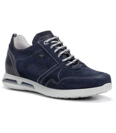 Zapato en nobuck océano para hombre