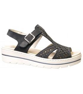 Sandalia de confort con plataforma
