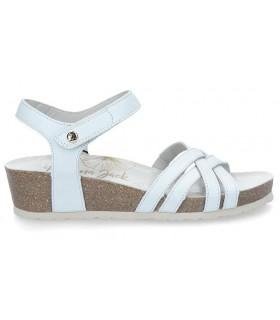 Sandalia de color blanco para mujer