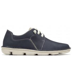 Zapatos de cordones en color azul