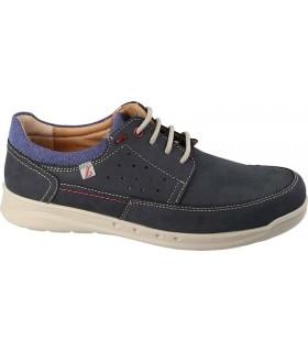 Zapatos de cordones en color azul marino