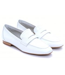 Zapato Mocasín mujer BRYAN JUNO BLANCO