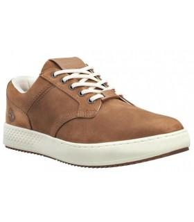 Zapato tipo casco para hombre en color cuero