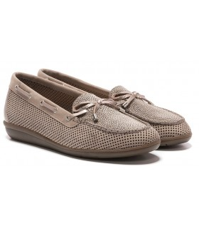 Zapato Mocasín mujer 24 HORAS 24405 TAUPE