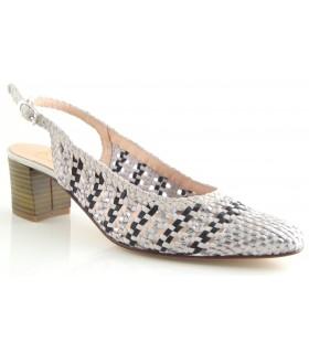 Zapato Salón mujer KESS 17053 PLATA