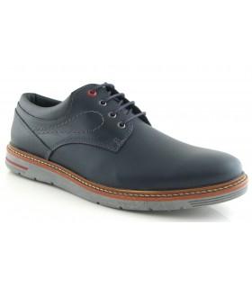 Zapatos para hombre en piel azul marino