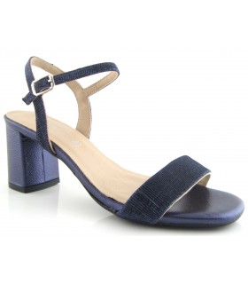 Sandalia para vestir en color azul marino