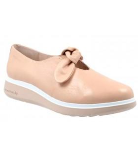 Zapato con lazo y plataforma