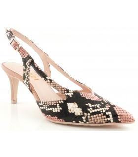 Zapatos de vestir con estampado serpiente