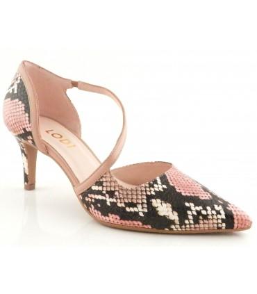 Zapatos de vestir con estampado serpiente para mujer