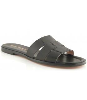 Sandalias negras para hombre