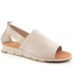 Sandalia de confort en color hielo