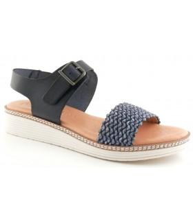 Sandalia de color azul
