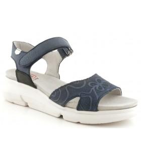 Sandalia con velcro para mujer