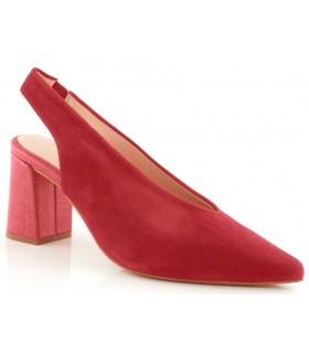 Zapato Salón mujer ESCALZIA DALMA ROJO
