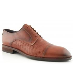Zapatos de vestir en color brandy