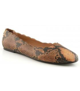 Zapato Salón mujer MIRAI S3251 OCRE