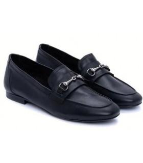 Zapato Mocasín mujer BRYAN JUNO NEGRO