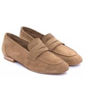 Zapato Mocasín mujer BRYAN JUNO CAMEL