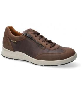 Zapatos para hombre en piel marrón