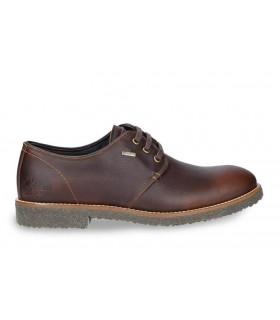 Zapato engrasado marrón con Gore-Tex