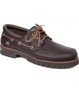 Náuticos para hombre en color marrón