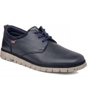 Zapato con cordones azul con suela extralight